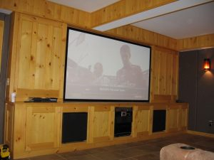 Movie Screen @ The Karl Residence Esopus, N.Y. Use For Movie Screen